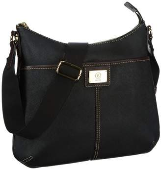 Bogner Womens AMY Shoulder Bag Black Schwarz (black/oak 066) Size: