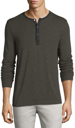 Theory Anemone Ringer Henley T-Shirt