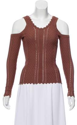 Ronny Kobo Knit Long Sleeve Top w/ Tags