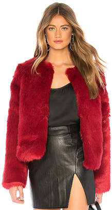 Lovers + Friends NYC Faux Fur Jacket