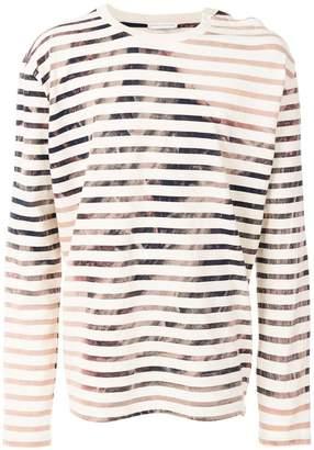 Faith Connexion draped longsleeved T-shirt