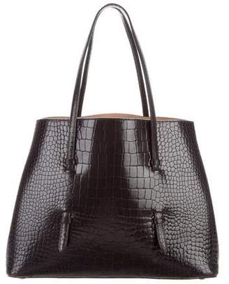 Alaia Embossed Leather Tote