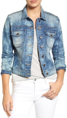 Women's Kut From The Kloth Amelia Denim Jacket $89 thestylecure.com