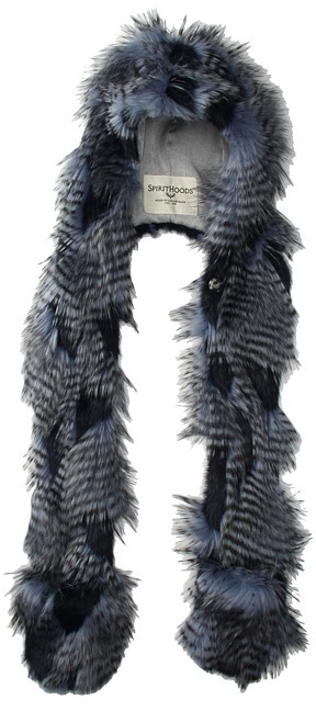 Spirit Hoods SpiritHoods - Blue Jay (Adults) (Blue/Grey) - Hats