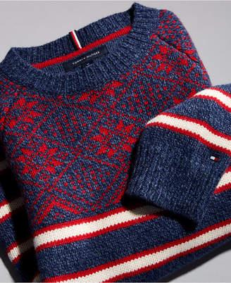 Tommy Hilfiger Men Fair Isle Stripe Sweater