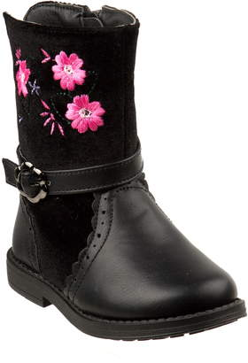 Laura Ashley Embroidered Flower Boot