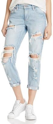 Pistola Mason Slim Denim Boyfriend Jeans in Nostalgia - 100% Exclusive $98 thestylecure.com