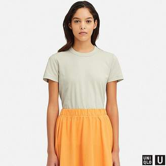Uniqlo Women's U Crew Neck Short-sleeve T-Shirt