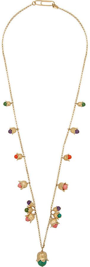 Aurelie BidermannAurelie Bidermann beaded tulip necklace