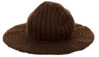 Ralph Lauren Cashmere Bucket Hat Brown Cashmere Bucket Hat
