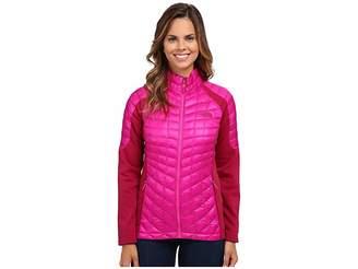 The North Face Momentum ThermoBalltm Hybrid Jacket (Luminous Pink/Dramatic Plum