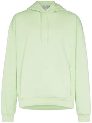 85fd8051d Martine Rose classic logo embroidered cotton hoodie