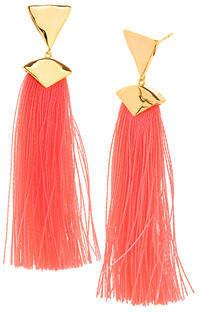 Gorjana Havana Triangle Tassel Earrings