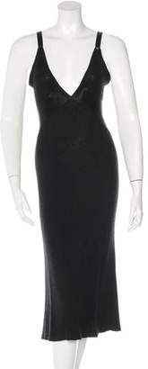 Chanel Cashmere Midi Dress