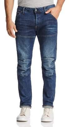 G Star 5620 3D Super Slim Fit Jeans in Vintage Dark