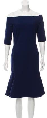 Chiara Boni Neoprene Knee-Length Dress