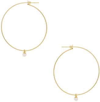 Natalie B Heavenly Hoop Earrings