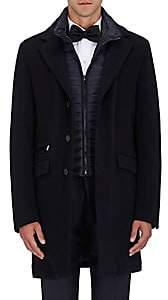 Moorer Men's Wool-Cashmere Coat - Navy