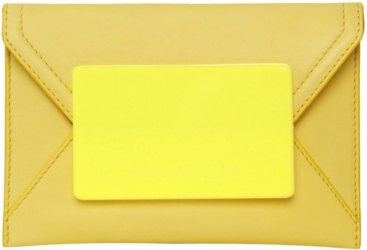 Halston 70's Envelope Clutch