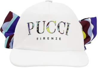 Emilio Pucci PRINTED LOGO BASEBALL HAT