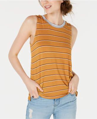 Hippie Rose Juniors' Striped Tank Top