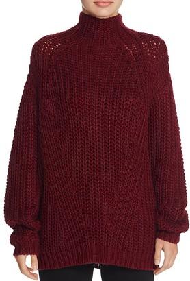 Signorelli Oversize Chunky Turtleneck Sweater $68 thestylecure.com