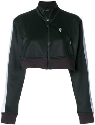 Marcelo Burlon County of Milan Cross tape bomber jacket