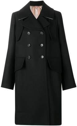 No.21 belted classic midi coat