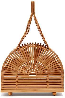 Cult Gaia Cupola dome mini bamboo bag
