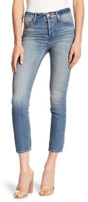 Black Orchid Joan Straight Leg High Waist Jeans