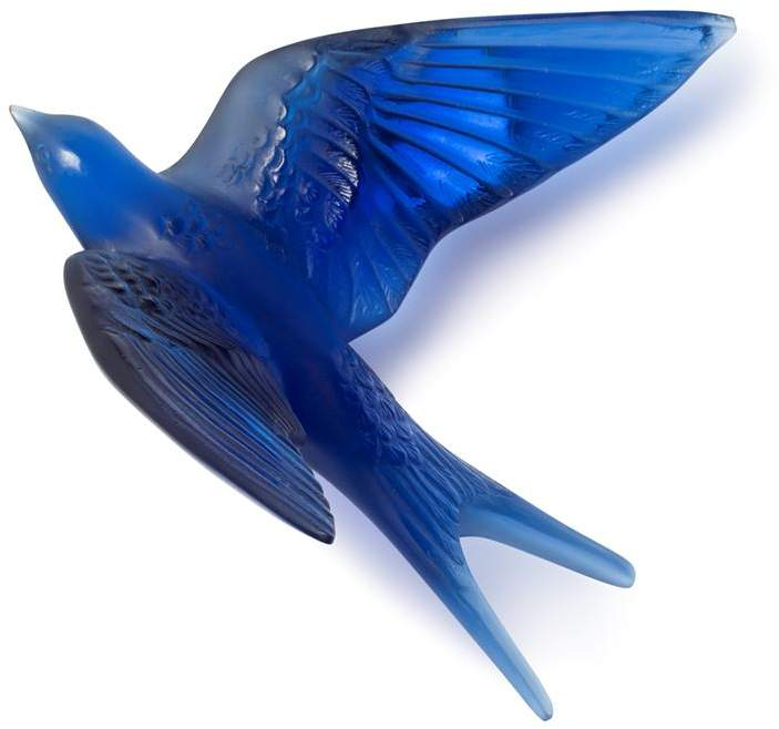 Crystal Hirondelles Swallow Wall Sculpture