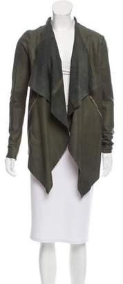 Giorgio Brato Draped Leather Jacket