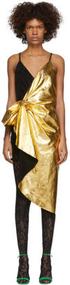 Gucci Gold Lame Dress