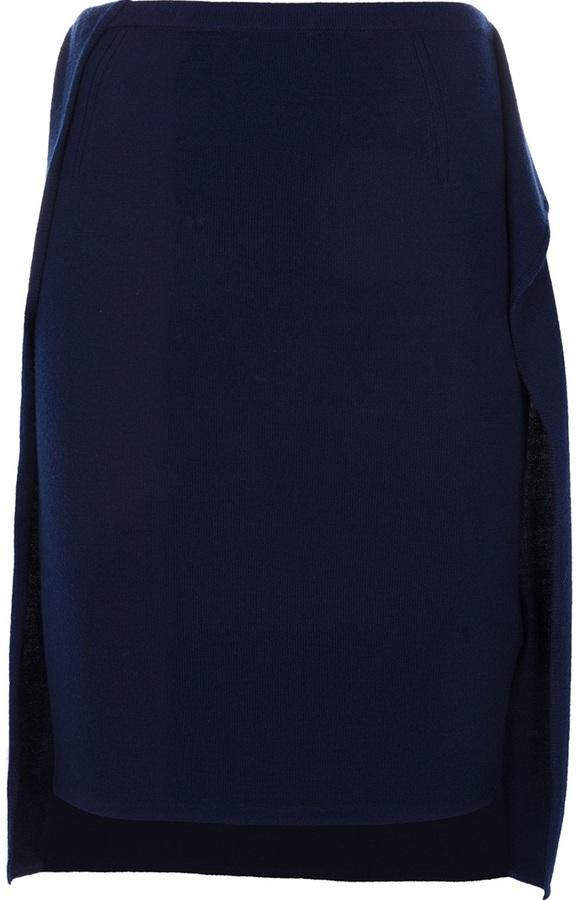 3.1 Phillip Lim flap detail pencil skirt