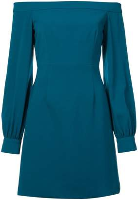 Jill Stuart crepe off the shoulder dress