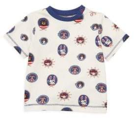 Hatley Baby Boy's Pirate Portraits Tee
