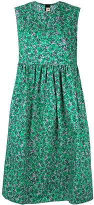 Marni sleeveless floral print dress