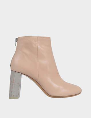 Acne Studios Claudine boots with wooden heel