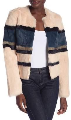 Bagatelle Genuine Rabbit Fur Jacket