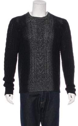 Vince Wool & Cashmere Cable Knit Sweater