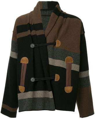 Kolor loose duffle coat
