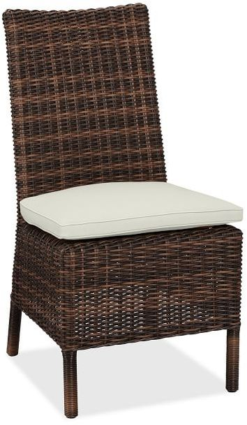 Replacement Armless Dining Chair Cushion