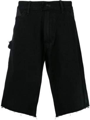 U.P.W.W. frayed hem denim shorts