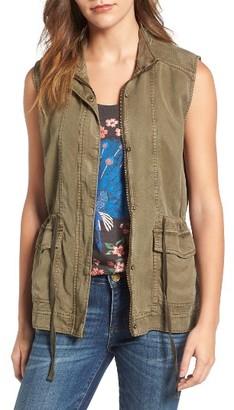 Women's Lucky Brand Utility Vest $99 thestylecure.com