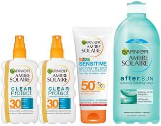Ambre Solaire Family Pack Summer Sun Gift Set
