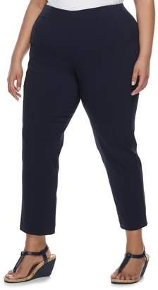 Croft & Barrow Plus Size Pull-On Ankle Pants