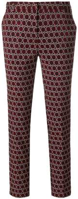 Kiltie slim-fit woven circle trousers
