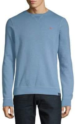Scotch & Soda Classic Garment-Dyed Cotton Sweater