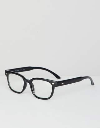 A. J. Morgan Aj Morgan AJ Morgan clear frame sunglasses