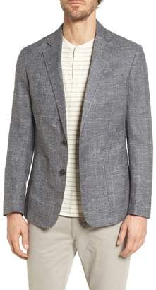 Billy Reid Lexington Slim Fit Silk Blend Blazer
